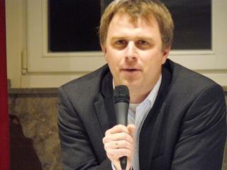 Moderator des Abends war Thomas Rünker (NRZ)