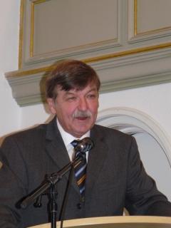 Volker Haubitz, stellvertretender Bürgermeister der Stadt Wesel sprach ein Grußwort.