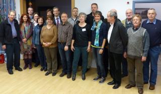 Die Notfallseelsorgerinnen und -seelsorger trafen sich im Gemeindezentrum am Lauerhaas