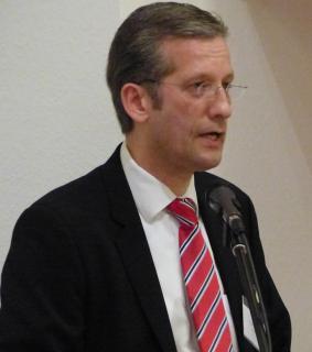 Superintendent Thomas Brödenfeld bei seinem Bericht